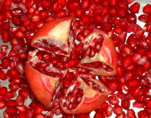 IQF Frozen Pomegranate Arils